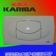 Kariba Plaque 2Knöpfe weiße 306200Duo