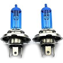 jurmanntrade GmbH® H4Xenon Style lámpara/lámpara halógena (con 100W, Xenon Look, delantera/trasera, utilizable como Beam/Low Beam/Antiniebla.