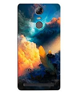 Citydreamz Colorful Clouds/Feather/Beautiful Abstract Modern Art Hard Polycarbonate Designer Back Case Cover For Lenovo K5 Note