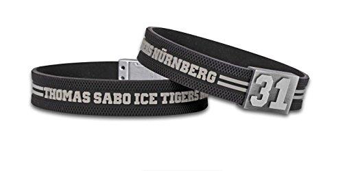 BRAYCE® Nürnberg Ice Tigers Armband mit Deiner Trikot Nummer 00-99 I Thomas Sabo Icetigers & Eishockey pur