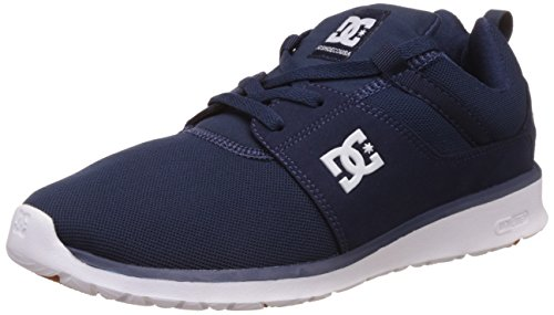 DC Shoes Herren Heathrow Espadrilles, Blau (Navy Nvy), 42,5 EU (Sneakers Dc Shoes Athletic)