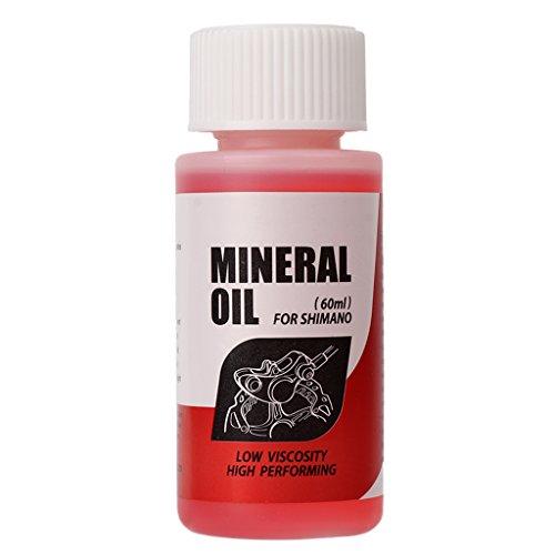 Celan Bremsen-Mineralöl-System, 60 ml Flüssigkeit für Fahrrad Mountainbikes für Shimano -