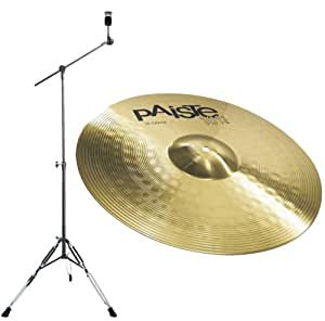 39 crash cymbal 16 paiste 101 brass lbd 25 boom cymbal stand musical instruments. Black Bedroom Furniture Sets. Home Design Ideas