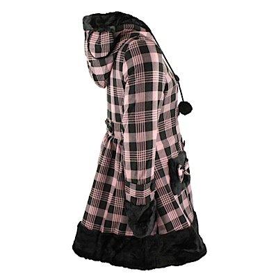 Hell Bunny Kurzmantel ELISA COAT pink/black Pink/Black