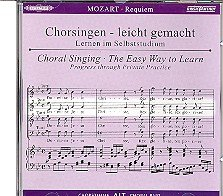 Begleitungen zum eigenen Musizieren - Chorsingen leicht gemachtMozart,Requiem Alt
