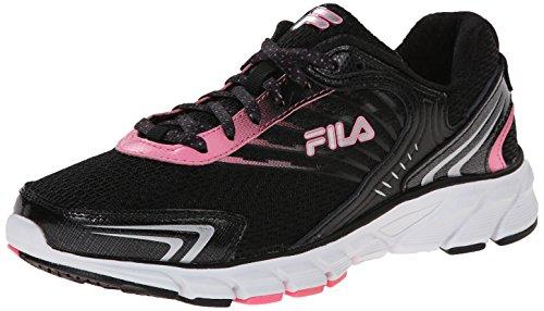 Fila Maranello Running Shoe Black/Sugar Plum/Metallic Silver