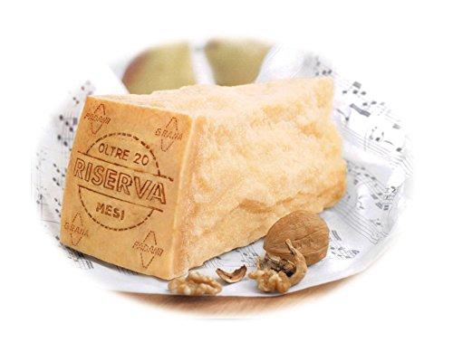 NEU Probierangebot! 1kg Parmesan Grana Padano D.O.P Riserva am Stück mind. 20 Monate gereift