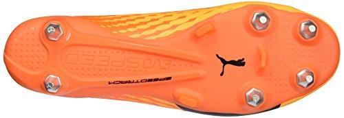 Puma Herren evoSPEED 17 SL S MX SG Fußballschuhe, 45 EU Gelb (ultra yellow-peacoat-orange clown fish 02)