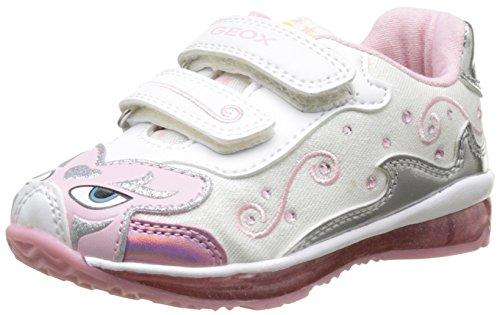 Geox B Todo Girl B, Chaussures Marche Bébé Fille Blanc (WHITEC1000)