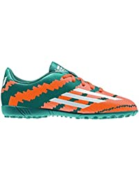 adidas Bota Jr Messi 10.4 Turf Power teal-White-Solar orange Talla 3 UK
