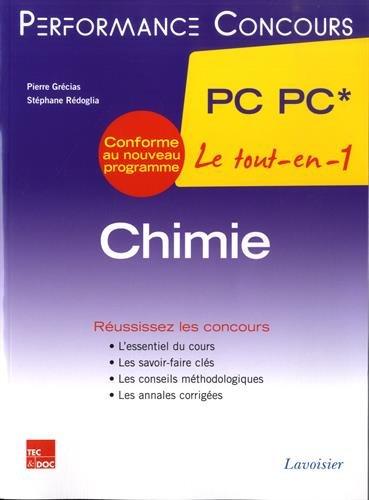 Chimie 2e anne PC PC*