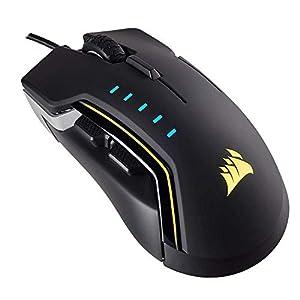 Corsair Optisch Gaming Maus (RGB-LED-Hintergrundbeleuchtung) Schwarz