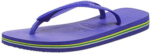 Havaianas Brasil 4000032, Infradito Unisex – Adulto Blu (Marine Blue 2711)
