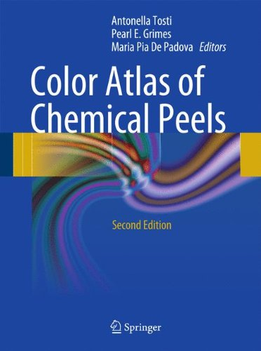Schwarze Medizinische Peeling (Color Atlas of Chemical Peels)