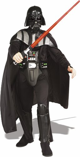Star Wars Deluxe Herren Kostüm Darth Vader Größe XL (Star Wars Darth Vader Deluxe Kostüm Herren)