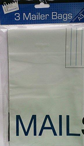 Selbstklebende A3-Versandtaschen, 2Packungen mit je 3 Stück (Clear Stamp Holder)