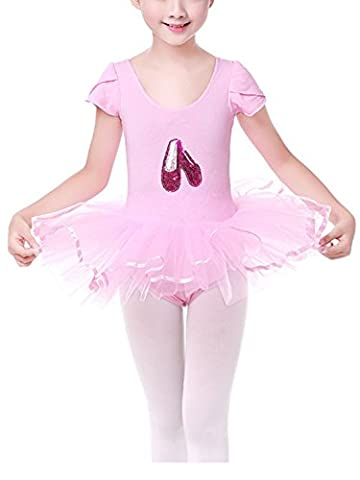 Costumes De Danse Vêtements - Happy Cherry Enfant Fille Justaucorps Costumes de