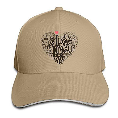 Nifdhkw Unisex Sandwich Peaked Cap Black Art Adjustable Cotton Baseball Caps Hats Panel-mid-profile-sandwich-cap