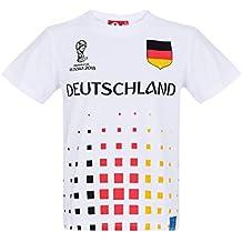 2018 FIFA World Cup Chicos Camiseta Manga Corta - Blanco 915b525abdc00
