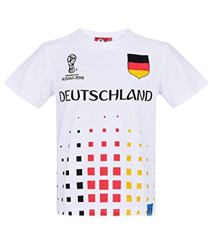 2018 FIFA World Cup Jungen T-Shirt - Weiß - 128