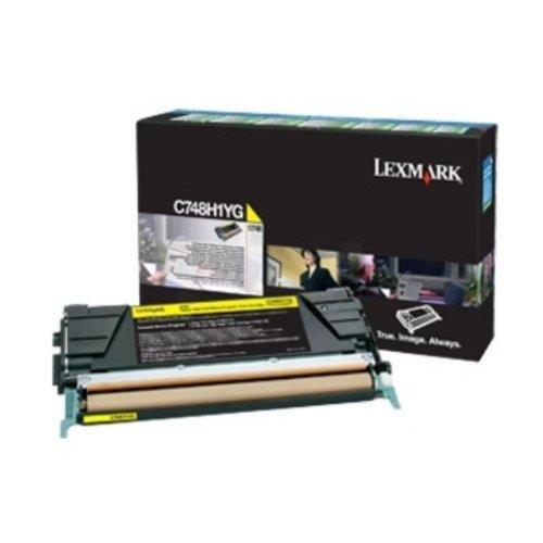 Preisvergleich Produktbild Lexmark C748H3YG Tintenpatrone für C748 gelb