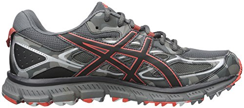 Asics Gel-Scram 3 Synthétique Baskets Dark Grey/Black/Red Clay