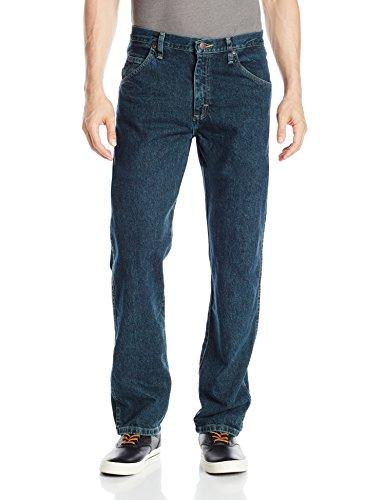 Wrangler Authentics Men's Big and Tall Classic Regular Fit Jean, Storm, 46x32 -