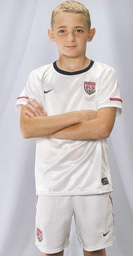 Nike USA Preschool White Home Soccer Kit/Uniform Set