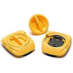 Speed Play Aero ballena Kable Pedal–Juego de placas, Solo para Zero Serie Adecuado, 14115Pedales, Amarillo, One size