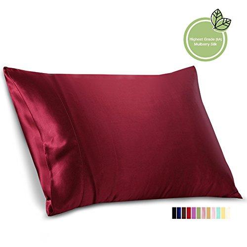 ellesilk-claret-silk-pillowcase-22-momme-mulberry-silk-hypoallergenic-queen-size-1pc