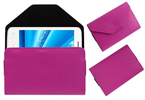 Acm Premium Pouch Case For Micromax Canvas Juice A177 Flip Flap Cover Holder Pink  available at amazon for Rs.179