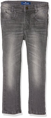 TOM TAILOR KIDS Jungen Jeanshose Grey Stretch Denim Matt, Grau (Original 1000), 134 (134) (Toms Kids Grau)