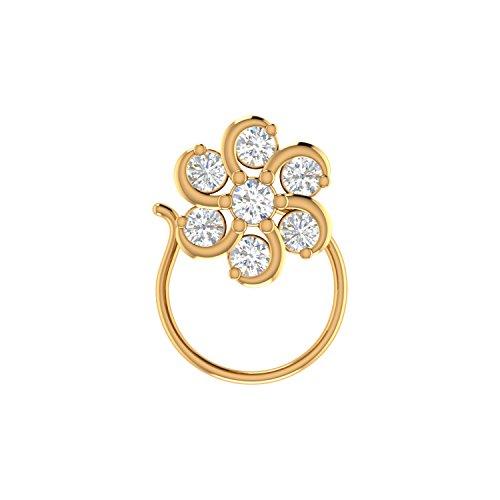 Voylla Silver Pin for Women (Golden)(8907617505695)
