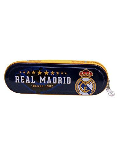 REAL MADRID CF® Plumier Metálico con Cremallera