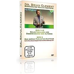 Die grüne Parasiten-Saftkur/Die Hippokrates-Health-Institute-Methode: Selbstheilung und Verjüngung (10. Erfurter Rohkosttage 2014), Dr. Brian Clement, DVD