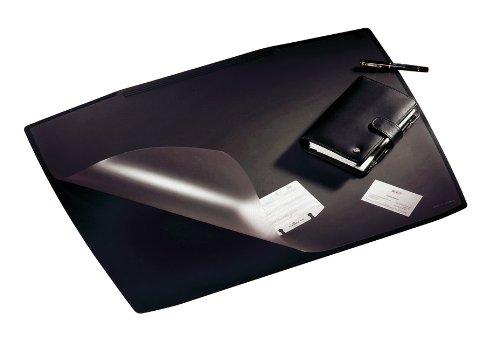 Durable 720101 Schreibunterlage Artwork (mit transparenter Abdeckung, 650 x 520 mm) schwarz