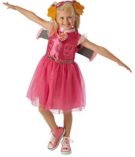 Skye - Paw Patrol - Kinder Kostüm - Kleine - 104cm - Alter (Paw Kostüme Skye Patrol)