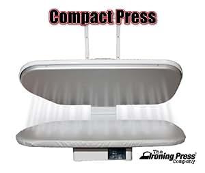 Presse à Repasser Compact avec 38 Jets de Vapeur et de Couverture Supplémentaire et Mousse (+ Couverture GRATUIT supplémentaire et mousse PVC € 45,00)