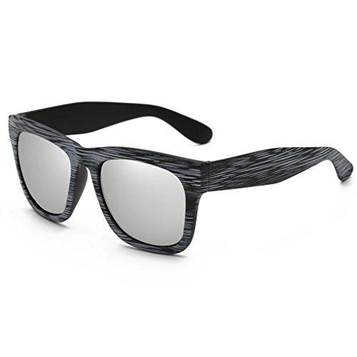 Provide The Best Holzmaserung Sonnenbrillen Bambus Sun Glas-Rahmen-Platz Spiegelung Objektiv