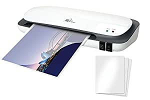 A4 Laminator Inc 20 A4 Pouches Thermal Laminating Machine with Twin Roller
