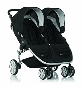 britax poussette b agile double neon black. Black Bedroom Furniture Sets. Home Design Ideas