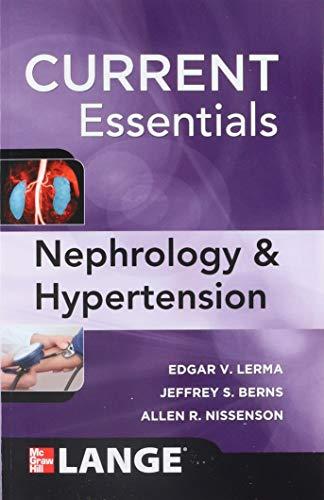 CURRENT Essentials of Nephrology & Hypertension (LANGE CURRENT Essentials)