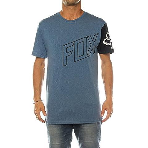 Fox Moto Vation - T-shirt - bleu/noir Modèle M 2017 tshirt homme