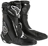 Alpinestars Motorradstiefel SMX Plus Goretex, Schwarz, Größe 45
