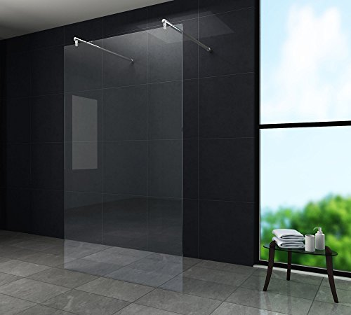 duschwand freistehend freistehende 10 mm Duschwand AQUOS-Dublo 120 x 200 cm