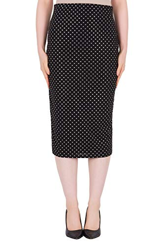 Joseph Ribkoff Black Pencil Skirt Style - 191797 Spring Summer 2019