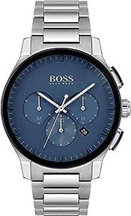 Hugo Boss Men's Blue Dial Stainless Steel Watch - 151