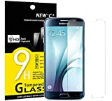 NEW'C Panzerglas Schutzfolie für Samsung Galaxy S6, Frei von Kratzern Fingabdrücken und Öl, 9H Härte, HD Displayschutzfolie, 0.33mm Ultra-klar, DisplayschutzfoliekompatibelSamsung Galaxy S6