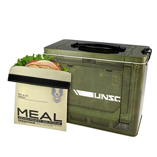 Halo 4 - Lunchbox - Brotdose - Ammo Crate - UNSC (Cortana Kostüm)