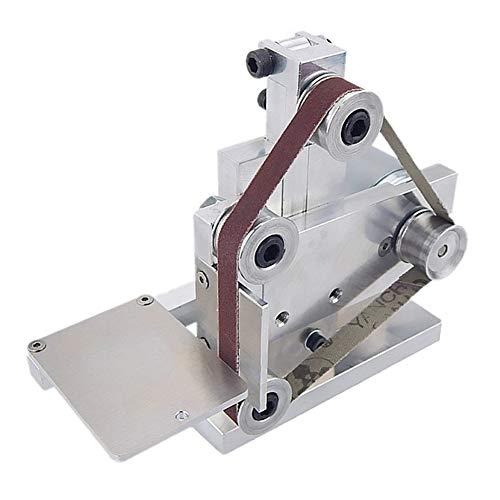 Fanville Mini DIY Poliermaschine Schleifbank Elektrische Bandschleifmaschine Schleifwerkzeug Mini Elektrische DIY Polierschleifwerkzeug